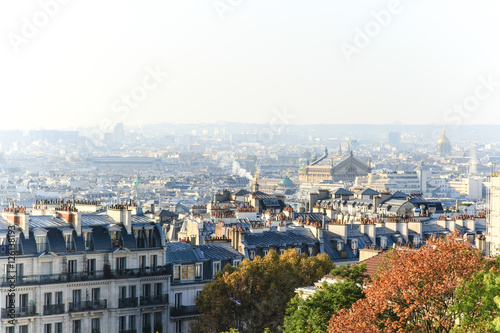 Foto op Canvas Parijs Vue de Paris