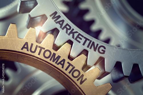 3d Zahnräder Marketing Automation