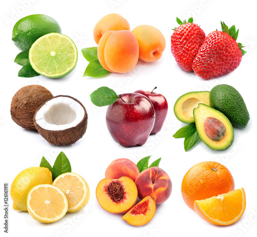 Collection of fruits