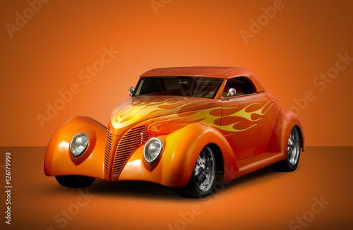 Poster Custom Roadmaster - Orange Background