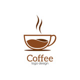 Fototapety Coffee Creative Concept Logo Design Template