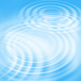 Abstract background with concentric ripples