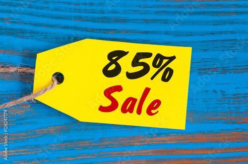 Poster sale minus 85 percent