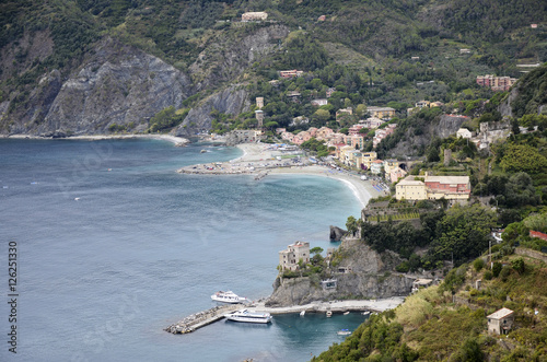 Ligurian coast Monterosso Poster