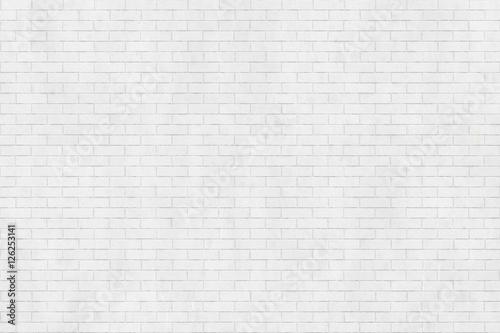 Tło tekstura biały ściana z cegieł
