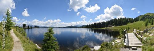 Foto op Plexiglas Bergen Panorama Reiteralm See / Steiermark