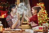 Fototapety cooking Christmas cookies