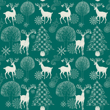 Boże Narodzenie i Nowy Rok Szczęśliwego niebieskie tło, Boże Narodzenie wzór