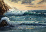 Fototapety Ocean shore