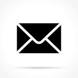 envelope icon on white background - 126397385
