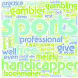 Are You Handicapped Without a Sports Handicapper text background