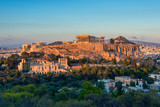 The Acropolis at Athens Greece at sunset - 126436721