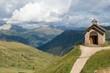 Chapel near Passo Pordoi , Dolomites Dolomiten, Italy