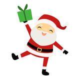 Smiling Santa Claus ...