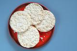 Round rice cakes