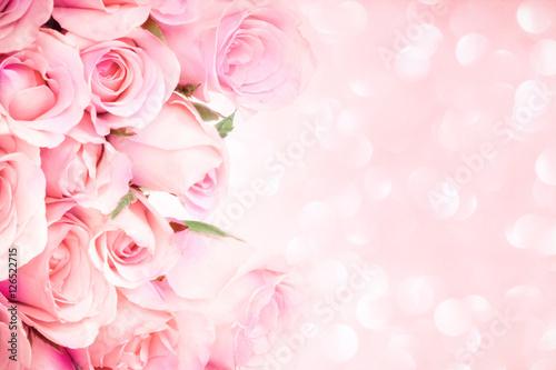 bliska słodki jasny różowy na różowym tle oświetlenia abstrakcyjnego