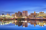 Fototapety Newark, New Jersey Skyline