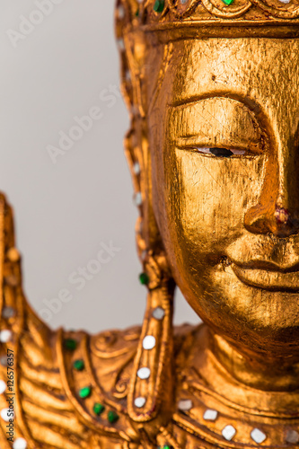 Juliste Details from buddha statue