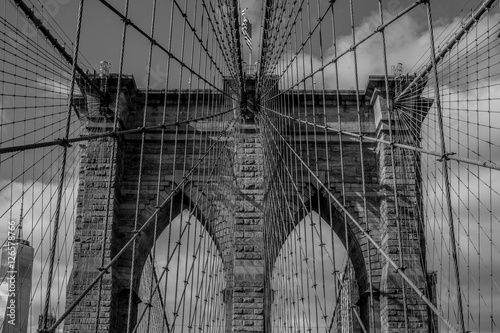 Fototapeta The Brooklyn Bridge