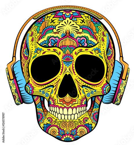 czaszka-z-ornamentami