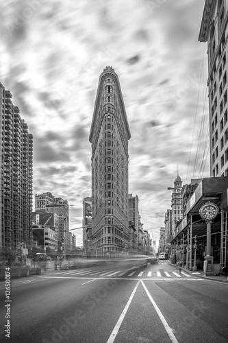 Foto op Canvas New York TAXI Flatiron