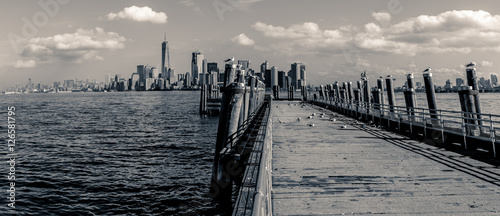 View of Manhattan from Liberty Island - 126581795