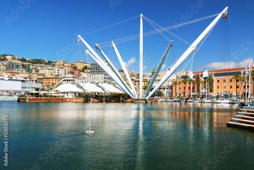 In de dag Liguria Le port de Gênes
