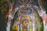 Cappadocia ,Turkey - October 17 ,2016 : Wall of frescoes in the Apple Church ( Elmali Kilise), Goreme Open Air Museum