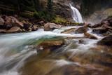 Krimmler waterfall in Austria