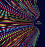 Fototapety Abstract graphics, Technological sense vector illustration.