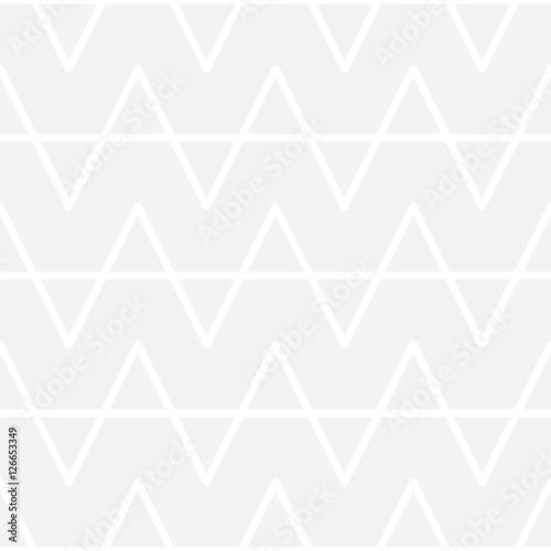 Abstract geometric black and white graphic design print pattern - 126653349