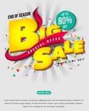 Fototapety Sale banner template design