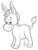 Niedlicher Esel - 126685180
