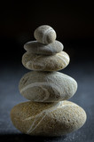 stack of  pebble stone