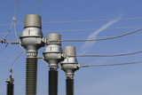 High voltage ceramic isolation over blue sky