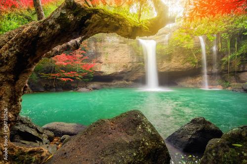 Plakat Heo Suwat Waterfall