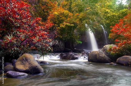 Poster Heo Suwat Waterfall