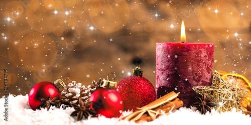 Leinwanddruck Bild Weihnachten