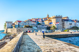 Cityscape of town Kocula, Croatia. / View at popular touristic destination in Europe, Croatia. - 126734930