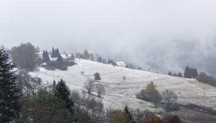 neige sur les Vosges