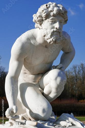 Poster Statue de Pluton au parc de Chantilly, France