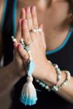 Yoga Namaste with Mala Beads