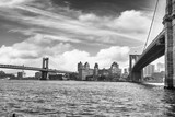 Fototapeta Most - Brooklin Bridge, NYC. © dade72