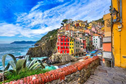 Poster Riomaggiore, Cinque Terre National Park, Liguria, Italy