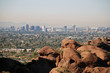 Phoenix skyline: view from Camelback Mountain