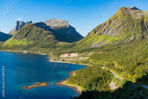 Poster Senja Island, Norway