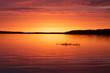 Shoe Lake sunset