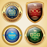 Dog Training badges