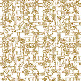 Steampunk seamless pattern  background with pipes