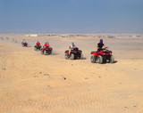 Tourist rally on ATVs in Hurghada - 126860124